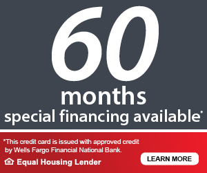 60 Months Special Financing Available