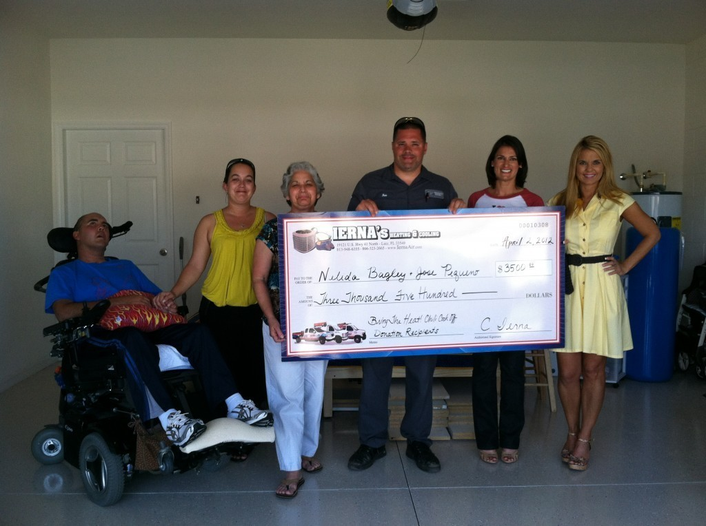 Tampa   AC Donation   Ierna's Heating and Cooling
