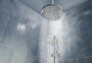 shower-head-spraying-water